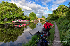 The Fisherman (Jason Connolly) Tags: canal fishing fisherman nikon lancashire tamron garstang lancastercanal canalreflections nikond750 tamron1530mm tamron1530