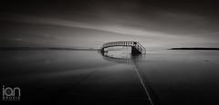 Belhaven Bridge Black & White (ianbrodie1) Tags: belhaven bay bridge nowhere scotland sea seascape blackwhite bass rock berwick law longexposure nikon d750 haida 10 stop