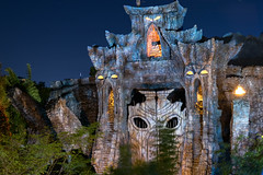 Welcome to Skull Island (blazerowner) Tags: new night dark island skull islands orlando nikon long exposure king doors ride florida resort adventure kong fl universal ioa reign 2016 universals d3300 uioa