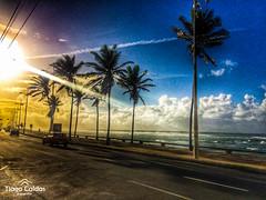 Pituba, Salvador, Bahia - Brasil. (tiagocaldas7) Tags: sunset summer sol praia beach paradise natureza playa bahia salvador pituba