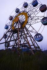 """化女沼レジャーランド abandoned amusement park """"Kejonuma Leisure Land"""" (shojikaz) Tags: haikyo ruined hdr old dp1quattro ruin 廃墟"""
