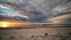 2016 - Landscape - Sunset - Largs - 03_02_04.jpg (stevenlazar) Tags: ocean sunset beach clouds waves jetty australia adelaide southaustralia largs 2016