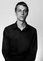 Daniel (philipharpr) Tags: portrait blackandwhite bw male face paper eyes moody background hasselblad softbox 80mm elinchrom p45 h2d phaseone 1125s 100x100cm isospeed100 ƒ16 elinchromdx400