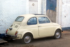 Fiat 500 recent respray left outside for months (sms88aec) Tags: fiat 500 recent respray left outside for months