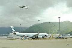 Cathay Pacific A330 (A. Wee) Tags: hongkong   airport hkg china  cathaypacific  airbus a330