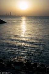 Every sunset brings the promise of a new dawn... (EHA73) Tags: summiluxm11450asph leica leicamp typ240 kuwait kuwaitcity salmiya kuwaitscientificcenter sea silhouette outdoor sunset shoreline