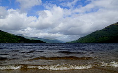 Loch Lomond (Stefan Jrgensen) Tags: loch lomond lochlomond scotland gb great britain greatbritain uk europe water lake clouds sky hills sony a77 2016