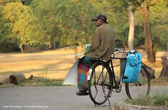 pedalling books (amalmeemanage) Tags: amalmeemanage bicycleoldman seller peddler books srilanka studiowildart