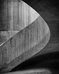 The Tanks Ascent (mcb photography) Tags: tate museum london england uk mikebarber mcbphotography wwwmcbphotographycouk bw blackandwhite monochrome mono tankhouse concrete architecture tatemodern southbank blackwhite curve shape structure building industr ial stark bleak