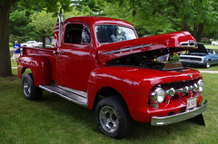 1951 Ford F1 Resto-Mod (ilgunmkr - Thanks for 4,000,000+ Views) Tags: carshow hennepinillinois 2016 ford fordtruck f1 1951 1951ford pickup 390 fe