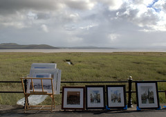 Art gallery with a view (Tony Worrall) Tags: england northern uk update place location north visit area county attraction open stream tour country welovethenorth northwest unitedkingdom resort holiday scene seaside bythesea seasidetown town picture pictureofthenorth holidaytown prom art garngeoversands arty but sell event promartartandcraftsfairincumbria