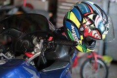 Motorbike passion (Crisand76) Tags: motorbike passione honda vfr800 nolan