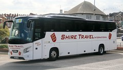 Shire Travel, Norton Canes, Cannock YD64UYR on layover at Gynn Square, Blackpool. (Gobbiner) Tags: vdl series6 shiretravel futura yd64uyr blackpool cannock