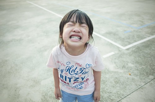 Child   Crying Little Girl