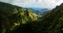 View from Vereda dos Balcões, Madeira