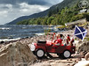 "The ""McRocky"" Family's Scottish Highland Holiday 2016 - ** A long wet journey, a bonnie view, an' a WEE mishap ! **. (HollysDollys) Tags: disney disneydoll disneydolls doll dolls dolly dollys dollie dollies hollysdollys holly wwwhollysdollyscouk fashiondoll fashiondolls barbie ken princess playscale playdoll 12inch cinderella cinderelladoll ella elladisneydoll ellatheworldaccordingtoadisneydoll rocky ruby emma stacie shelly kelly car jeep vacation holiday fairytale family blog story stories toy toys toystories toystory dollstories adventure familyholiday happyfamily scotland scottish lochness"