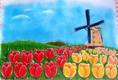 Pintura em tecido e cia (patriciaangelo2014) Tags: natal pano puff noel paisagem rosas cebolinha prato pintura tulipa papai tecido tigro marinheiro shitzus