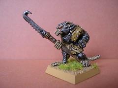 Classic Skaven miniature (Entslow) Tags: miniature citadel warhammer wargames gamesworkshop wargaming skaven oldhammer