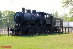 Steam Engine in E. P. Ripley Park - Marceline, MO 116