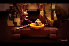 LEGO MINIFIGURES : The wolf and the three big pigs! (4/10) (COLLECTOR FIGURES) Tags: les trois three big wolf lego le pigs loup et gros the minifigures porcs