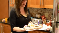 Happy Birthday, Sophie! (Joe Shlabotnik) Tags: birthday home cake mom video dad singing ben sophie violet birthdaycake happybirthday danny sue patty ven everett 2014 cookiepuss nikond7000 december2014