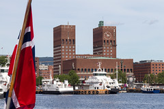 Oslo Rådhus - Municipio (liviob) Tags: oslo europa scandinavia viaggio norvegia municipio