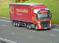 WM63 APU (Cammies Transport Photography) Tags: truck volvo lorry fh flyover coulthard m74 hayton lockerbie wm63apu
