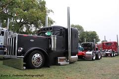 Arroyo (RyanP77) Tags: show tractor truck semi chrome pete trailer 579 ram lowrider stockton tow stacks peterbilt flatbed wrecker 359 lowboy 379 bubblenose jdt