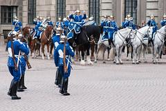 Swedish horse band (quinet) Tags: horses sweden stockholm reiter royalguard pferde 2012 chevaux cavaliers hgvakten knigsgarde garderoyale camera:model=nikond80 geo:country=sweden geo:city=stockholm geo:state=stockholm camera:make=nikoncorporation exif:make=nikoncorporation exif:lens=1050mmf28 exif:model=nikond80 exif:focallength=105mm exif:aperture=50 exif:isospeed=200 geo:location=stockholmsweden