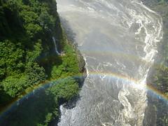 Victoria Falls, Zimbabwe / Zambia (aleta.weber) Tags: africa river waterfall wasserfall victoria falls zimbabwe zambia regenbogen rrainbow