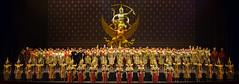 Curtain Call / The Royal Khon Performance / The Battle Of Indrajit Episode Of Nagabas (atsushi photography) Tags: people woman man thailand dance asia southeastasia bangkok performance culture khon