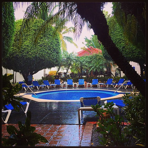 A little shower to start the day. #puertoplata