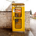 another yellow telephonebox