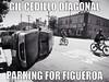 A Ford SUV flipped over at Avenue 55 and N. Figueroa in mid-2014 - one block away from Gil Cedillo's office (ubrayj02) Tags: crash propaganda gil cedillo streetsblog gilcedillo bikela flyingpigeonla streetsblogla fig4all cedillosafe