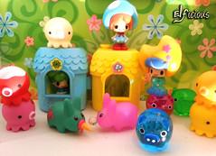 A cute little world (ELFicious) Tags: chan labbits koeda takochu