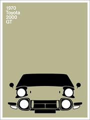 Print (Montague Projects) Tags: 2000 toyota 1970 gt japanesedesign carposter