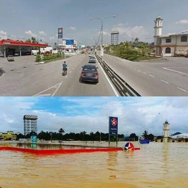 Flood in Malaysia Kuala Krai, Kelantan..Update