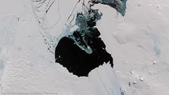 Pine Island Glacier,  Antarctica (DMCii) Tags: sea snow ice nature water landscapes antarctica glacier geography pineisland nearinfrared satellitedata dmcii ukdmc2 digitaldata