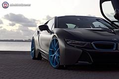 BMW i8 on HRE P101 (wheels_boutique) Tags: miami bmw hre i8 p101 hrewheels wheelsboutique teamwb wheelsboutiquecom keenanwarner