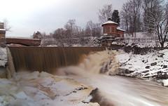 Hydro 2 (Rob Hurson) Tags: longexposure winter snow ice suomi finland waterfall helsinki pentax hydro ndfilter vanhakaupunki vantaariver neutraldensityfilter k30 hydroelectricpowerstation kuninkaankartanonsaari pentaxk30 samsung1224mmf4