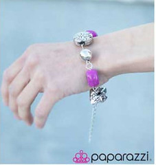 Glimpse of Malibu Purple Bracelet K2 P9613-4
