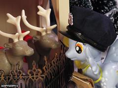 Naughty List 03 (DerpyDerp910) Tags: christmas reindeer toy toys is friendship little magic pony fim playmobil hasbro mlp mylittlepony hooves derpy my snowcatcher brony mlpfim derpyderp910