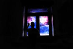 The Cosmos... (Juans Photography) Tags: sky love window nature stars landscape model space cielo estrellas infinito cosmos infinite espacio
