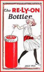 1922 4th of July Issue, COVER - The RE-LY-ON Bottler - design by W. N. Wilson (carlylehold) Tags: robert haefner robertchaefner