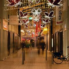 Christmaslights (Rene Mensen) Tags: christmas light tree shop shopping dark long exposure centre christmaslights centrum emmen