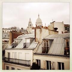 quintessential Paris (Chantal van der Ende-Appel) Tags: parijs paris iphoneography hipstamatic sacrecoeur montmartre montmartresouslestoits airbnb