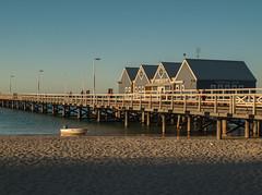 Busselton (jimjiraffe) Tags: sunset beach pier jetty wharf wa busselton busseltonjetty geographebay xs1 jimjiraffe fujifilmxs1