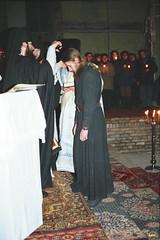 16. Иноческий постриг в Успенском соборе 1996 г