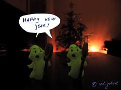 Happy New Year! / La muli ani! /   ! / Bonne anne! / Feliz ao nuevo! / Feliz ano novo! / Glckliches neues jahr! / Buon anno! (cod_gabriel) Tags: christmas dof bokeh ghost christmastree deptho