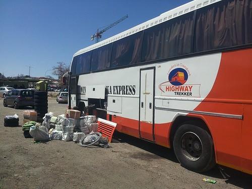 Le Windhoek Lusaka Express, Namibie